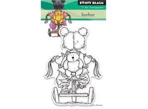 Penny Black sello transparente: Adiós