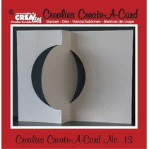 Crealies crear una tarjeta no. 13 para tarjetas perforadas