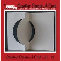 Crealies Create A Card no. 13 Stanz für Karte