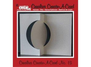 Crealies und CraftEmotions Crealies crear una tarjeta no. 13 para tarjetas perforadas