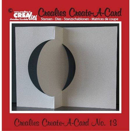Crealies und CraftEmotions Crealies Create A Card no. 13 Stanz für Karte