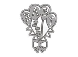 TONIC Stansning og prægning skabelon: Temaer Baby