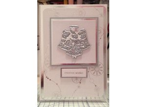 TONIC Cutting and embossing / template: Rococo Angel