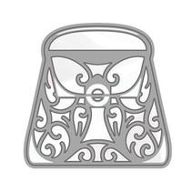 Stansning og prægning skabelon: Rococo Stilfuld håndtaske