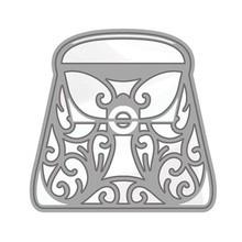 TONIC Punzonatura e goffratura modello: Rococo del sacchetto di spalla