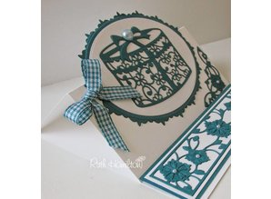 TONIC cutting and embossing die: filigree Hat Box