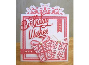 TONIC Punching and embossing stencil, set of 3 !!