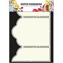 A4 Schablone: Card Art Triptech
