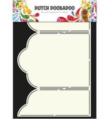 Dutch DooBaDoo A4 Template: Card Type Triptech