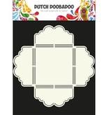 Dutch DooBaDoo A4 Schablone: Envelop Art Scallop