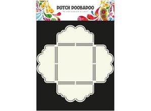 Dutch DooBaDoo A4 skabelon: Indhylle stil Kammusling