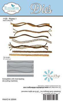 Elisabeth Craft Dies Troquelado y estampado en relieve plantilla: 7 Corde diferente!