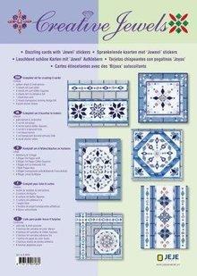 Sticker Creative kort sæt Creative Jewels