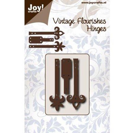 Joy!Crafts und JM Creation Stanz- und Prägeschablone: Scharniere