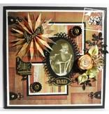 Joy!Crafts und JM Creation Stempling og prægning stencil: oval dekorativ ramme