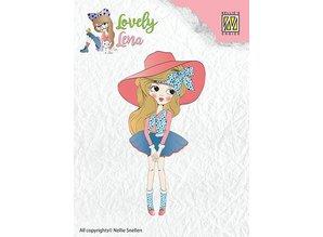 Nellie snellen Transparent stamp: Pretty Lena