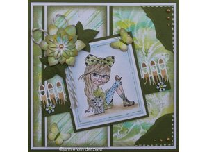 Nellie snellen Transparent Stempel: Lena, animal lover