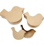 Objekten zum Dekorieren / objects for decorating 3 cajas en forma de ave