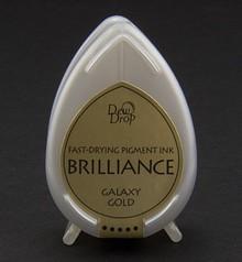 FARBE / INK / CHALKS ... Brilliance Dew Drop, Galaxy guld