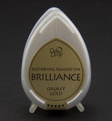 FARBE / INK / CHALKS ... Brilliance Dew Drop, oro Galaxy