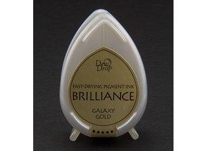 FARBE / INK / CHALKS ... Brilliance Dew Drop, Galaxy gold