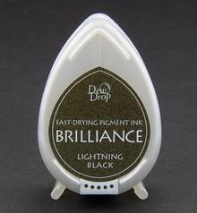 FARBE / INK / CHALKS ... Brilliance Dew Drop, Black Lightning