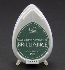 FARBE / INK / CHALKS ... Brilliance Dew Drop, Pearlescent Ivy
