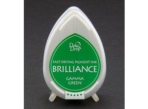 FARBE / INK / CHALKS ... Brilliance Dew Drop, Gamma Green
