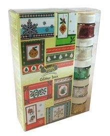 FARBE / INK / CHALKS ... Maxi Christmas glitter box