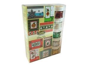 FARBE / INK / CHALKS ... Maxi jul glitter kasse