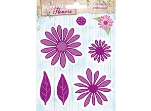 Studio Light Punching and embossing template: Beautiful Flowers
