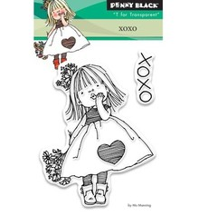 Penny Black Transparent stempel: Xoxo
