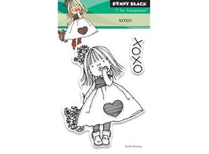 Penny Black sello transparente: Xoxo
