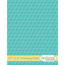 Embossing folders with stars