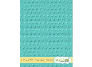 Taylored Expressions Embossing folders with stars