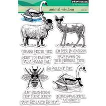 Transparent stempel: Animal rige