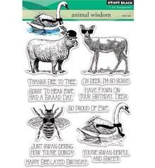 Penny Black Transparent stempel: Animal rige