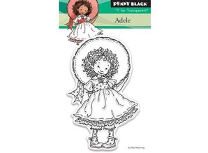 Penny Black Transparent stamp: Adele