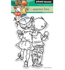 Penny Black sellos transparentes: Amor del verano