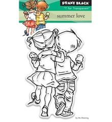 Penny Black Transparent Stempel: Summer love