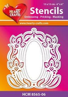 Schablonen und Zubehör für verschiedene Techniken / Templates Flexible plastic mask, embossing-priking-masking