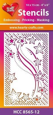 Schablonen, für verschiedene Techniken / Templates mascherina di plastica flessibile, goffratura-PRIKING-mascheramento