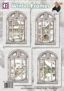 BASTELSETS / CRAFT KITS: 4 Window Cards