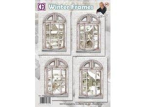 BASTELSETS / CRAFT KITS: 4 Window Cards