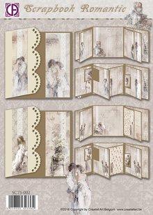 BASTELSETS / CRAFT KITS: Scrapbog Romantisk