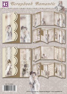 BASTELSETS / CRAFT KITS: Scrapbook Romantico