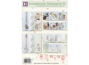 BASTELSETS / CRAFT KITS: Scrapbook birth / baptism