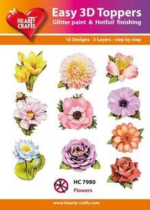 BILDER / PICTURES: Studio Light, Staf Wesenbeek, Willem Haenraets 10 forskellige 3D-design, tema: blomster
