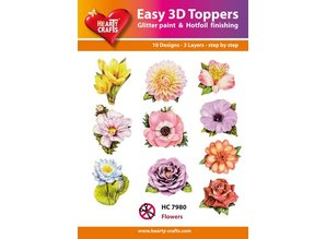 BILDER / PICTURES: Studio Light, Staf Wesenbeek, Willem Haenraets 10 different 3D designs, theme: flowers