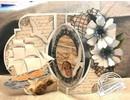 Dutch DooBaDoo A4 Skabelon: Card Art Swing kort